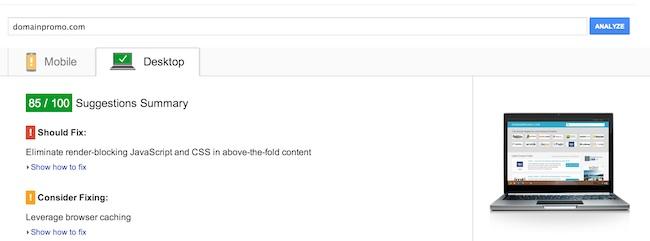 domainpromo-pagescore-85